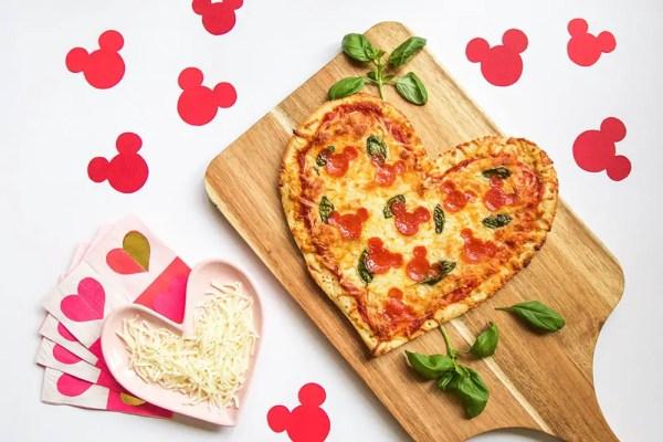 Hidden Mickey Pepperoni Pizza