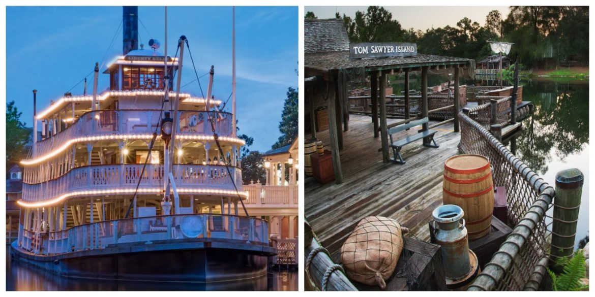 Liberty Square Riverboat & Tom Sawyer Island reopening this Friday!