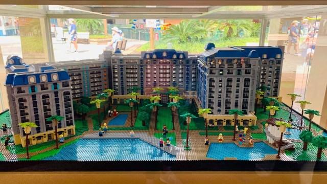 riviera lego display