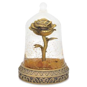 Beauty and the Beast Enchanted Rose Snowglobe