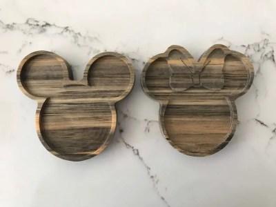 Mickey and Minnie trays