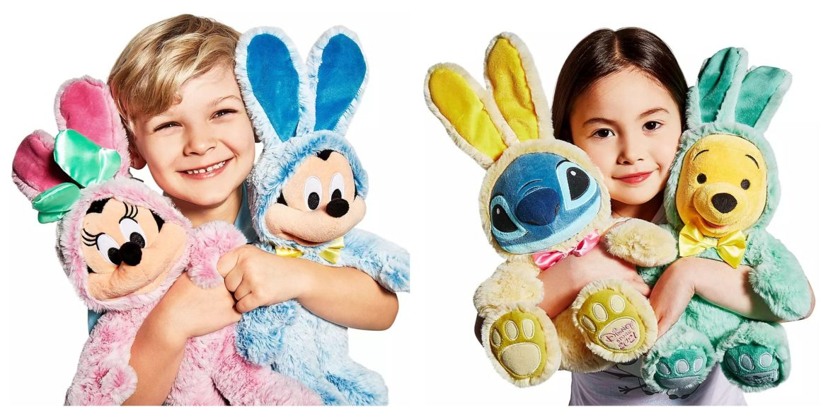 Super Cute Disney Character Easter Bunnies are hopping their way to ShopDisney