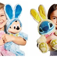 disney characters easter bunnies
