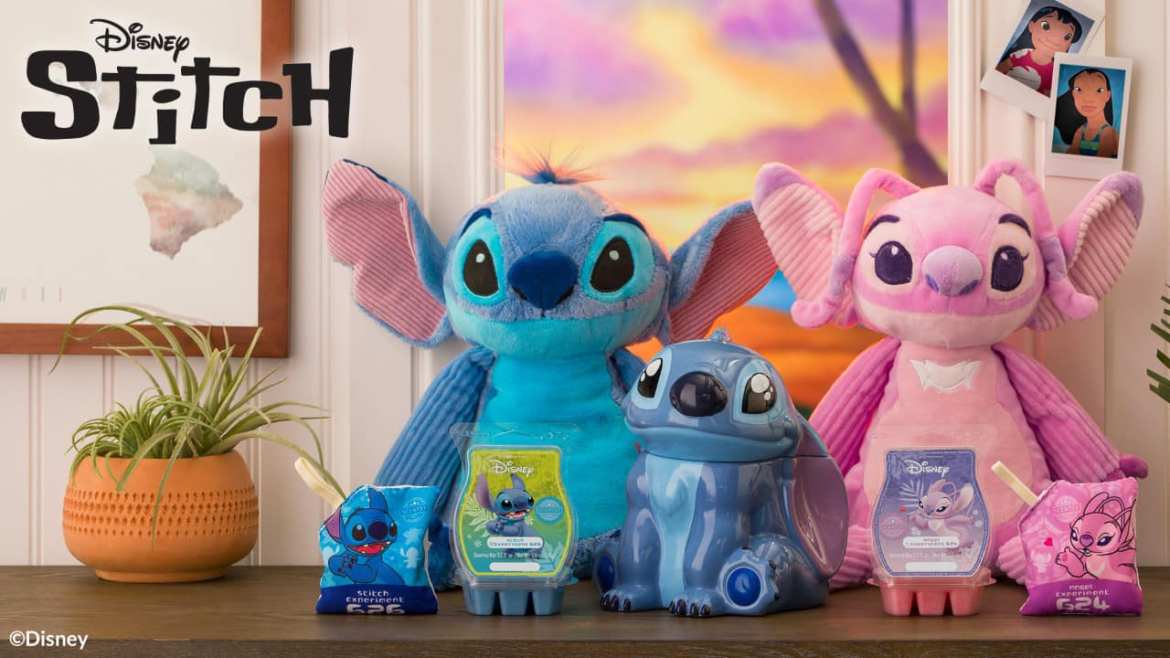 New Stitch Scentsy Warmer And The Return of Stitch and Angel Scentsy Buddies!