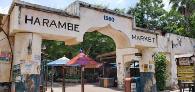 Entrance to Harambe Market at Disney's Animal Kingodm