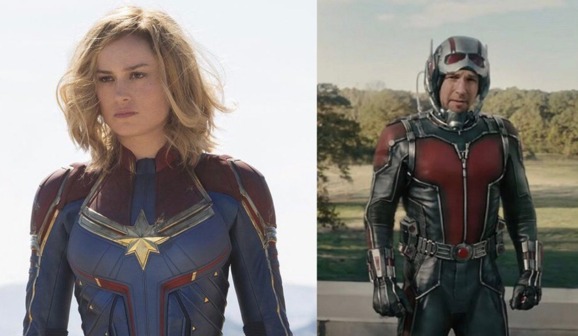 Filming Updates for Captain Marvel 2 & Ant-Man and the Wasp: Quantumania