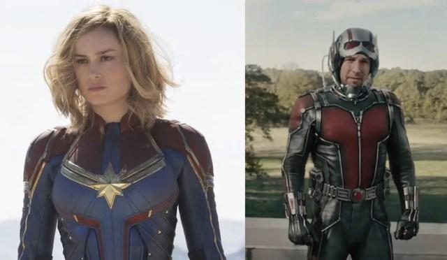 Captain Marvel Ant-Man