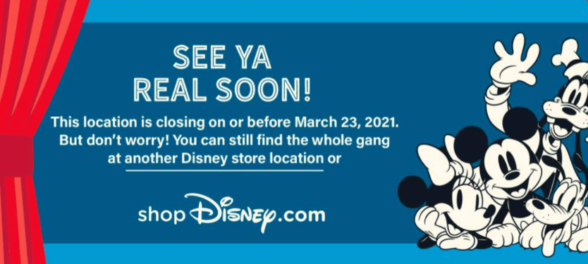 List of Disney Store closings in the United States & Canada