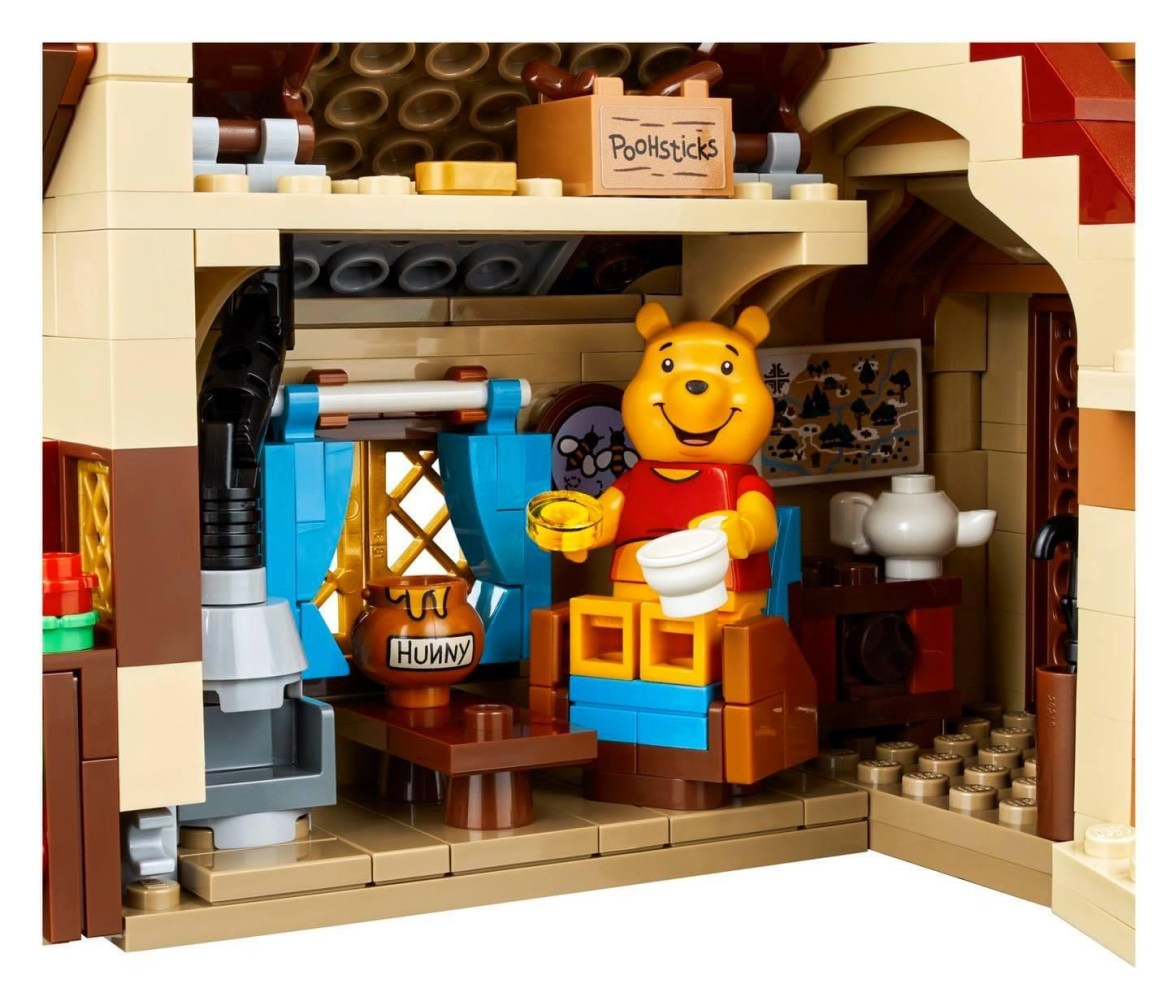 New Lego Set Featuring Winnie the Pooh!