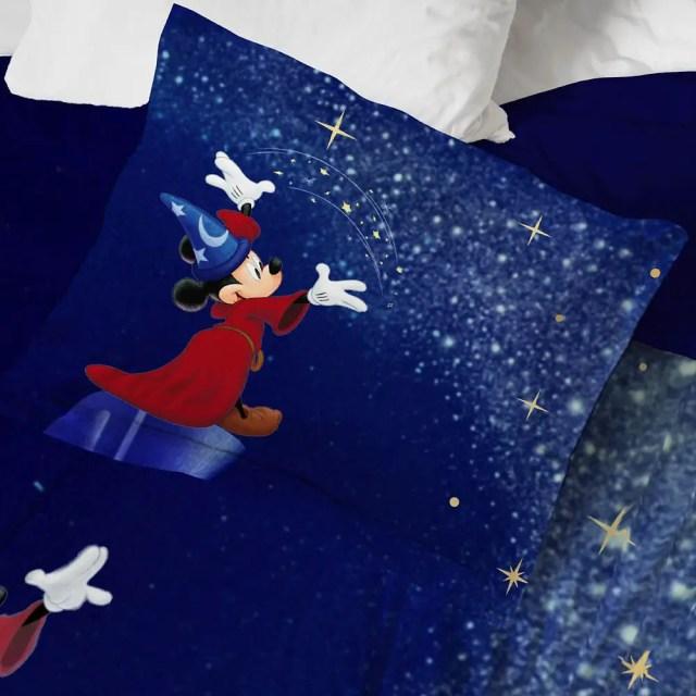 Sorcerer Mickey Comforter And Sheet Set 2