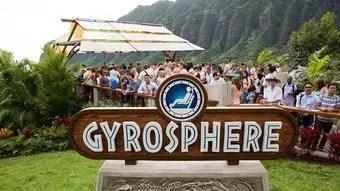 Jurassic World sign
