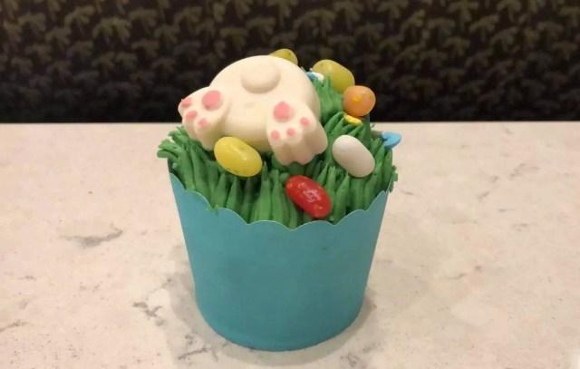 Easter Egg Hunt Cupcake
