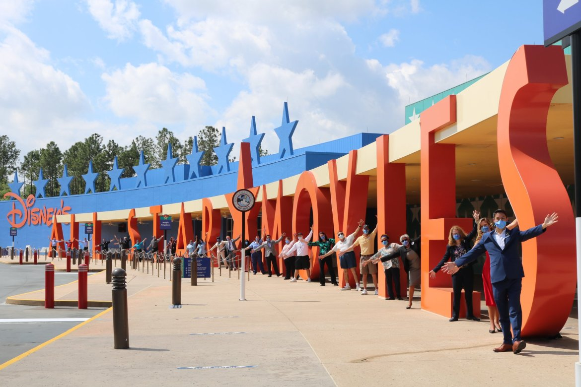 Cast Members Celebrate the Grand reopening of Disney's All-Star Movies Resort
