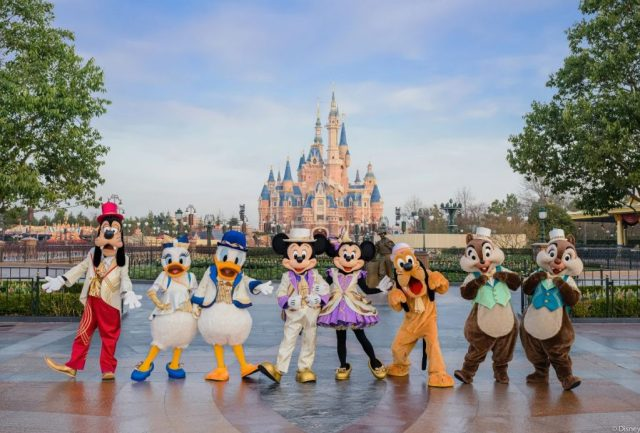 Shanghai Disney 5th Birthday Celebration