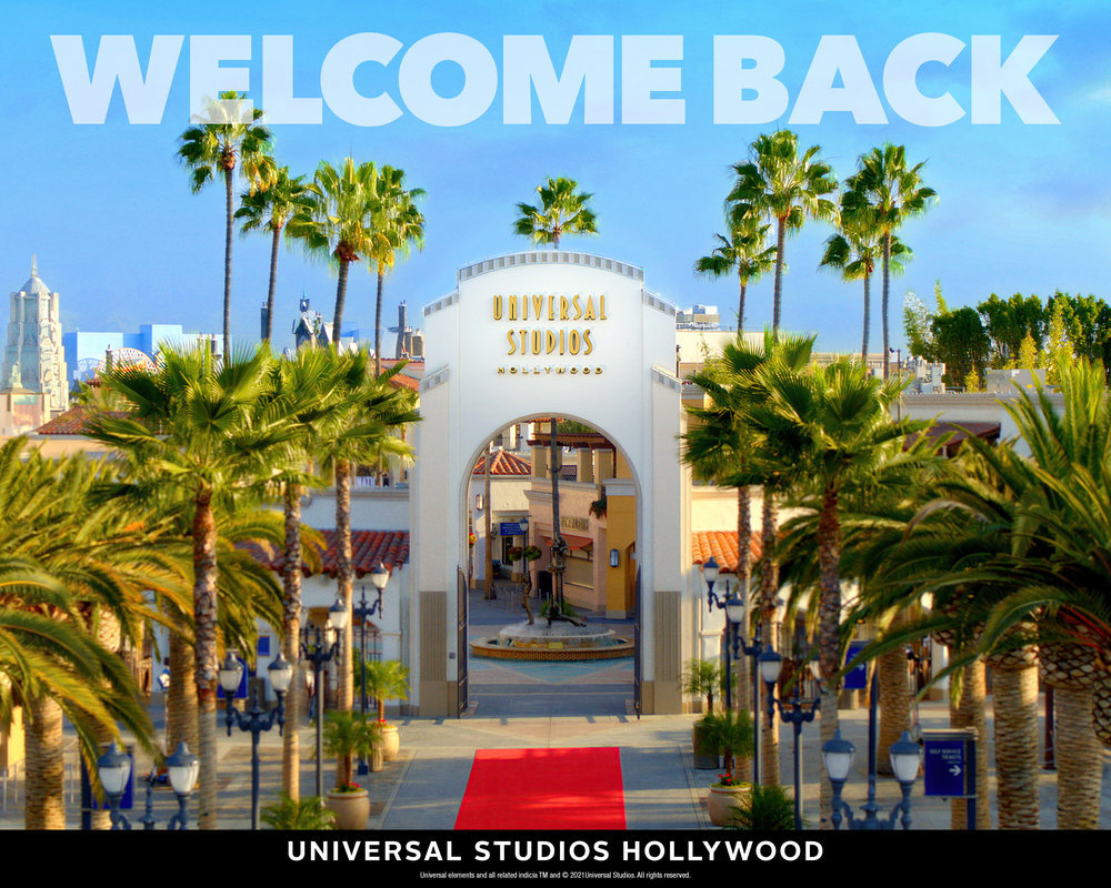 Universal Studios Hollywood Reopening on April 16th!