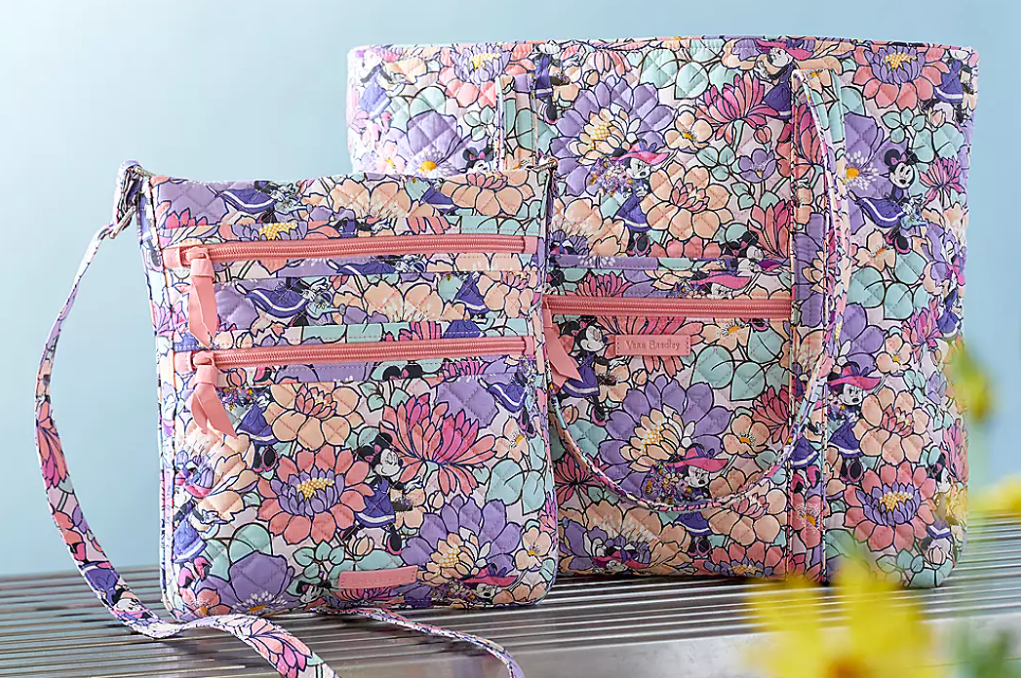 New Minnie Mouse Garden Party Vera Bradley Collection now on ShopDisney