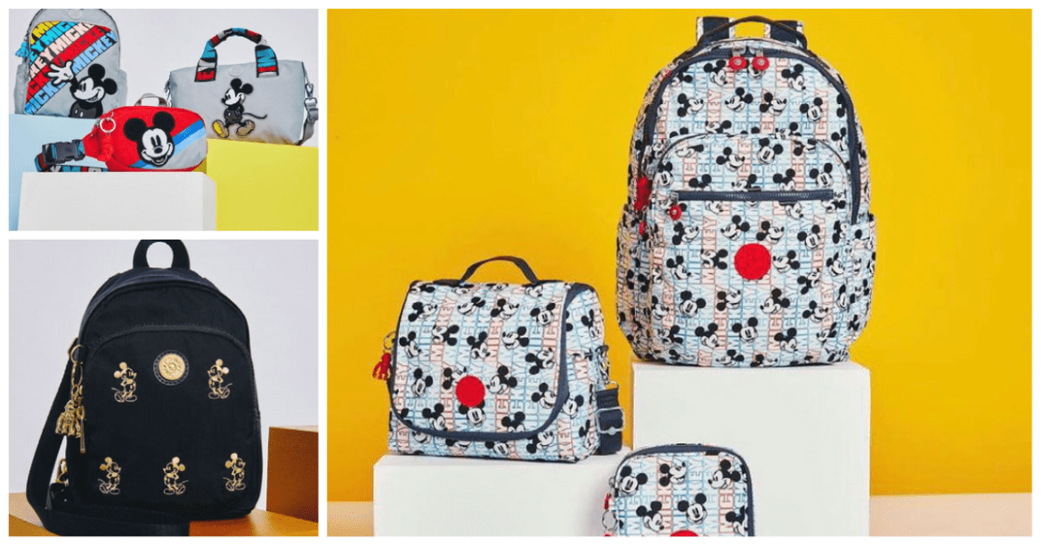 New Mickey Mouse Kipling Collection Has A Variety Of Spring Style