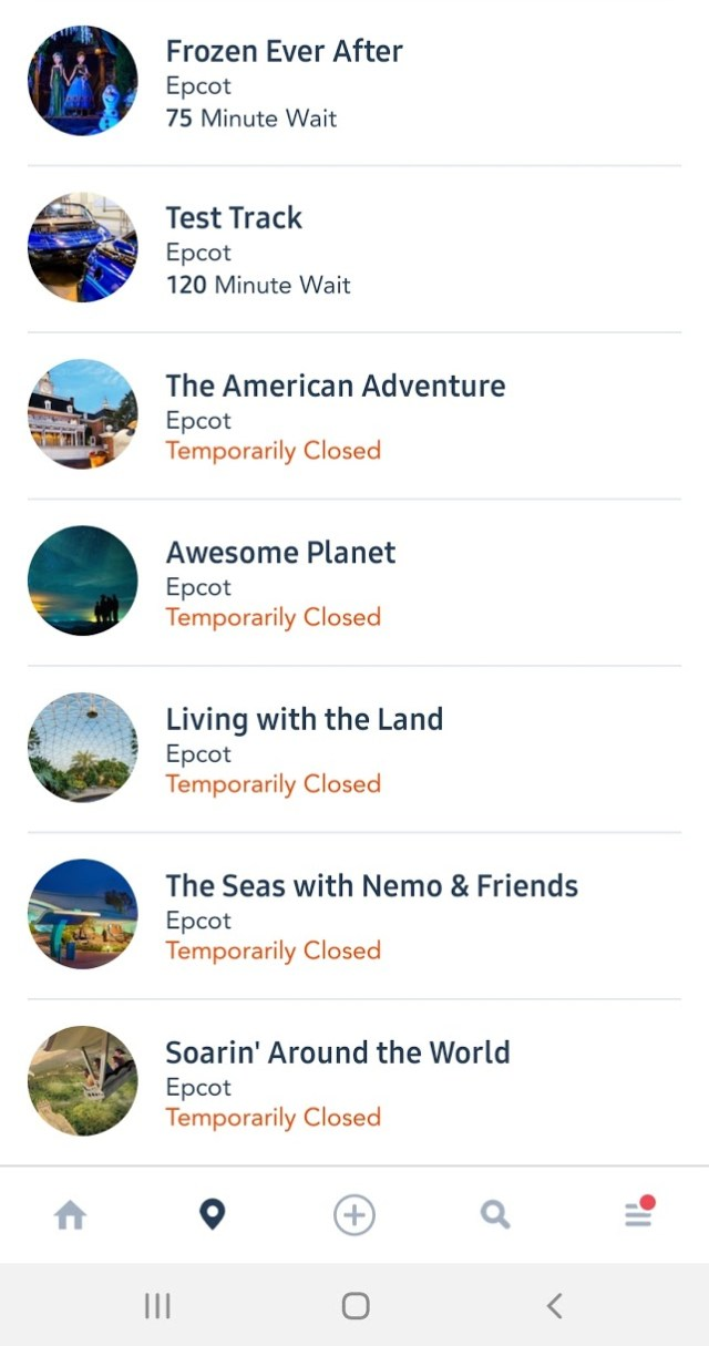 Power Outage in Epcot closes several attractions 2