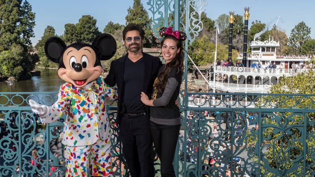 John Stamos with Mickey Mouse