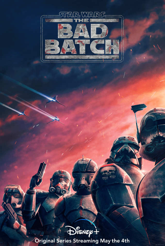 First look Star Wars: The Bad Batch coming to Disney+ 1