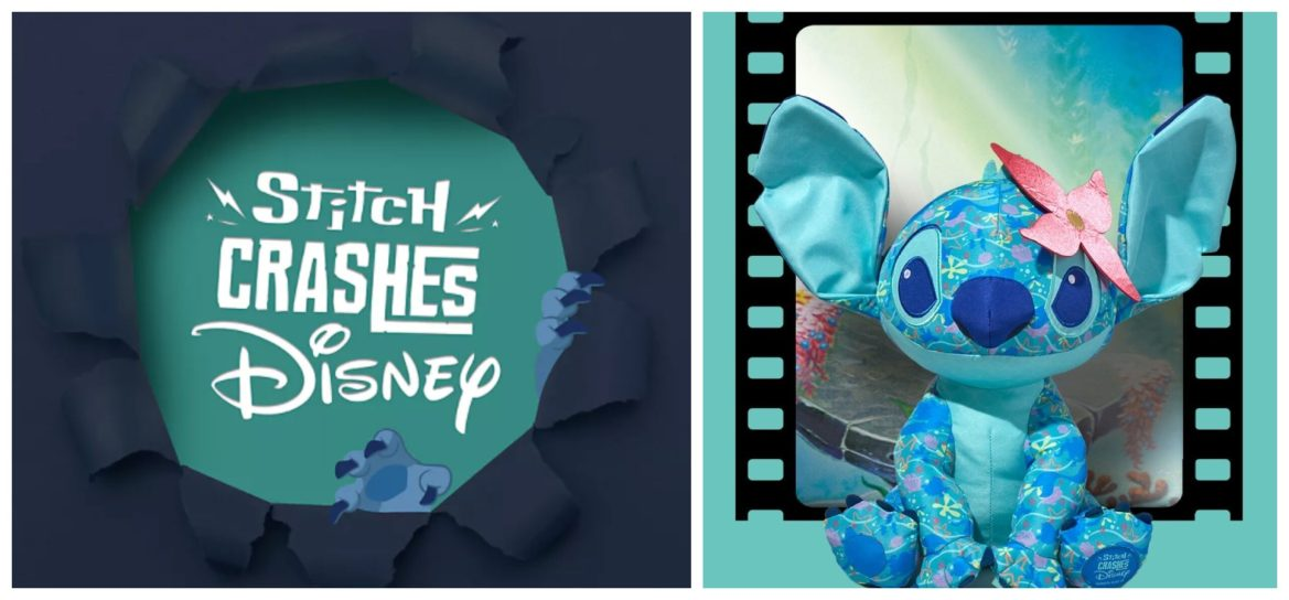First Look: Stitch Crashes Disney 'Little Mermaid' Collection for April