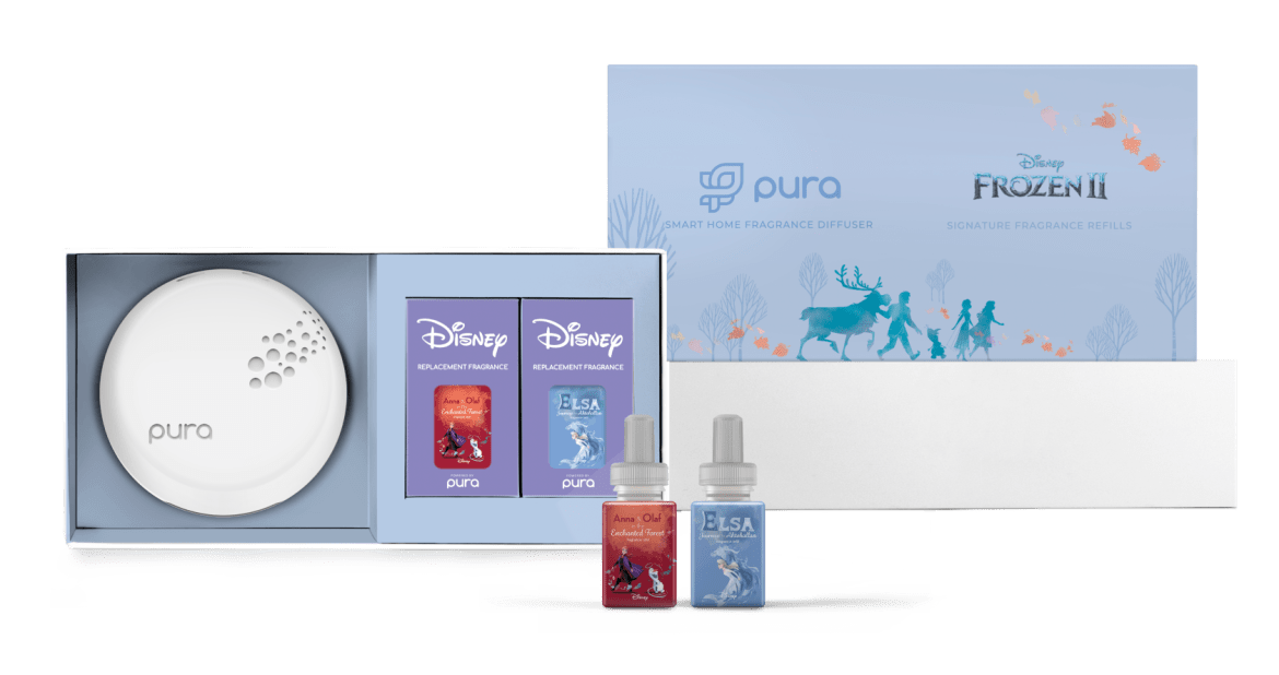 Frozen Home Diffuser By Pura Brings Home The Enchantment