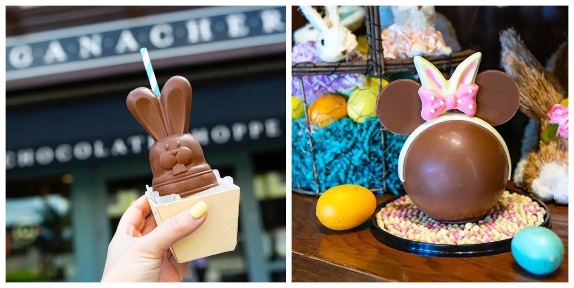 New Boozy Bourbon Chocolate Bunny & Minnie Piñata at Disney Springs