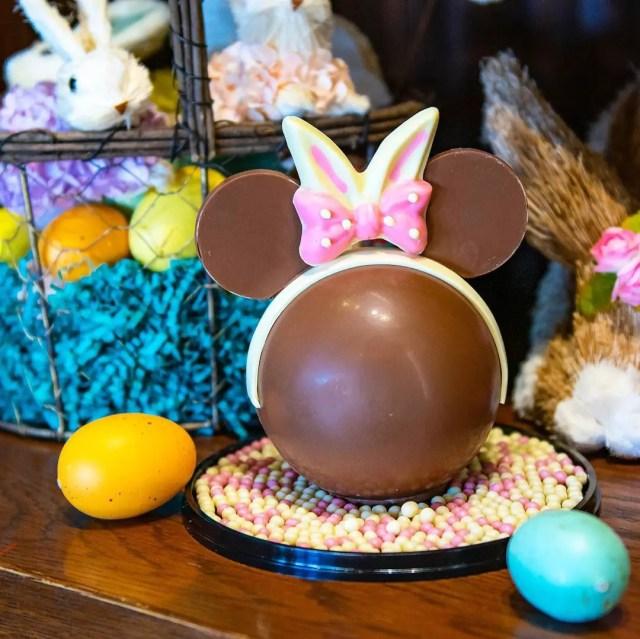 New Boozy Bourbon Chocolate Bunny & Minnie Piñata at Disney Springs 1