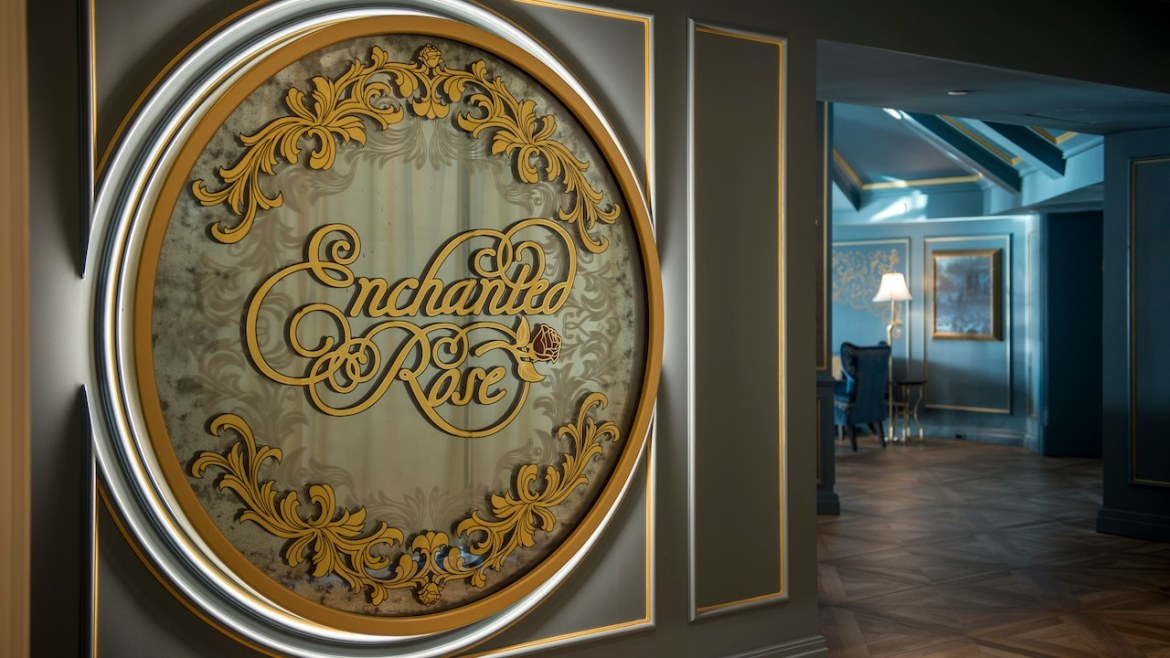 You Can Get Married at Beauty and the Beast's Enchanted Rose Lounge