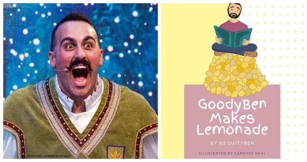 """Equity Ben's """"GoodyBen Makes Lemonade"""" book"""
