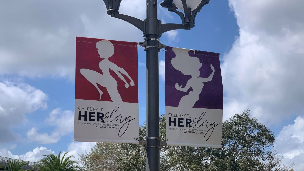 "Celebrate ""Herstory"" at Disney Springs in March"