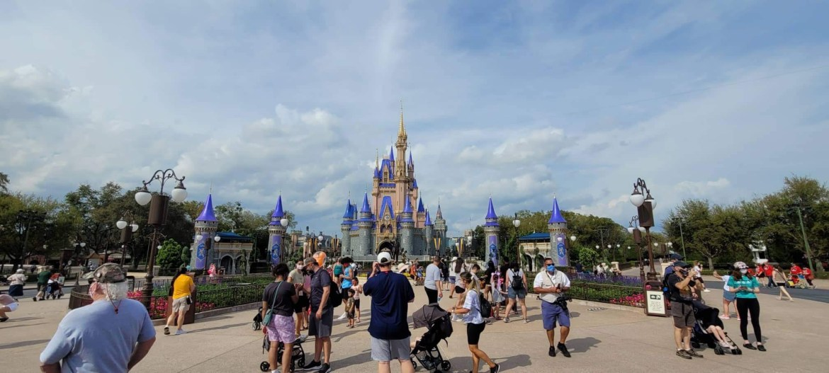 Disney World Theme Park Reservations Filling Up For Spring Break
