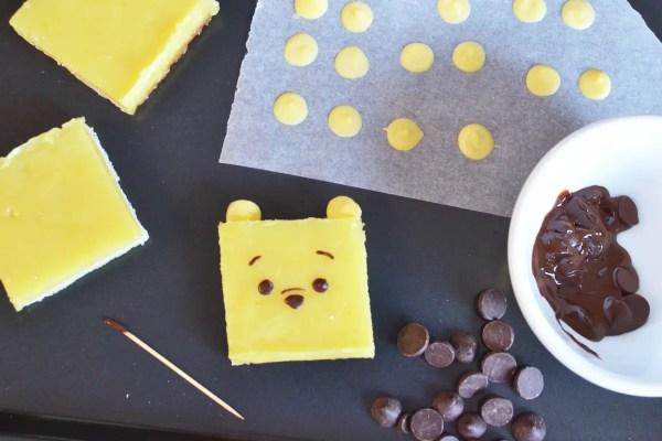 Winnie the Pooh Lemon Bars