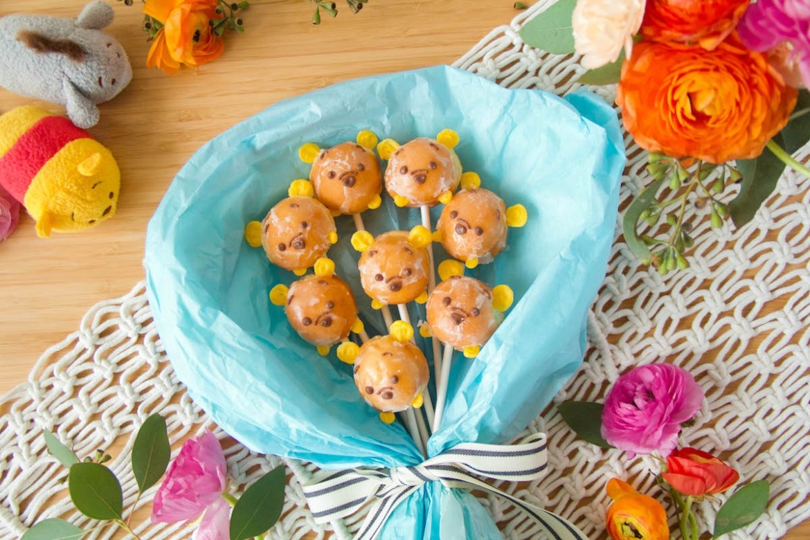 Gift A Winnie The Pooh Donut Bouquet To Someone Special!