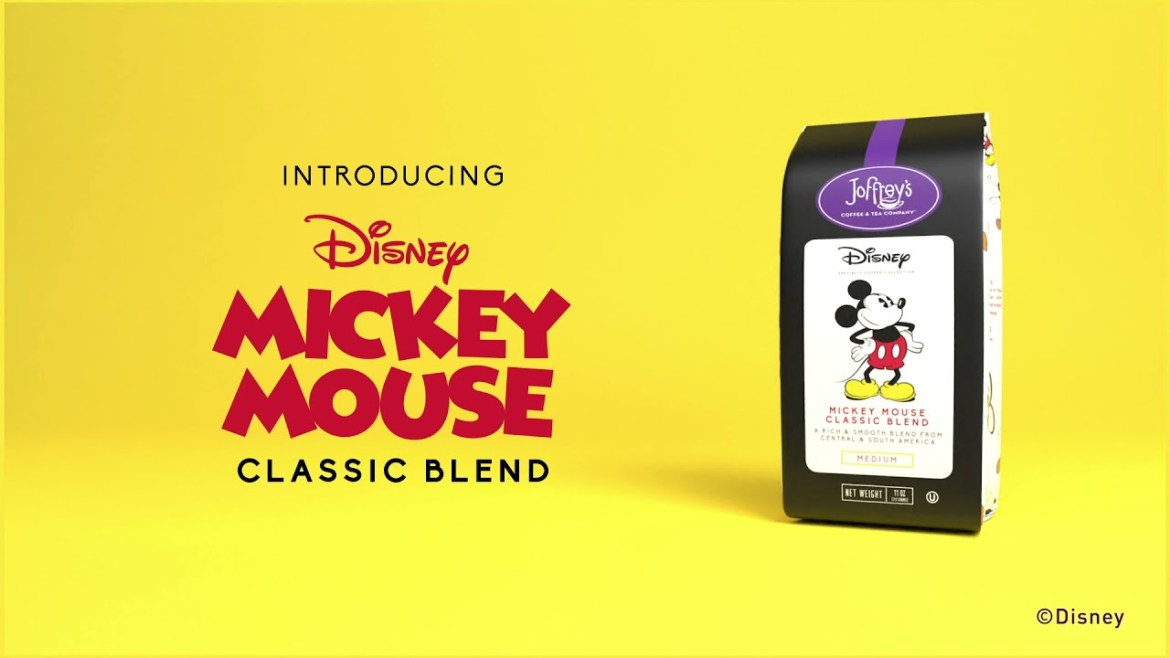 Introducing Mickey Mouse Classic Blend from Joffrey's Coffee