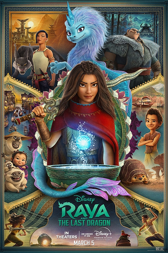 Spoiler-Free Review of Disney's 'Raya and the Last Dragon' 1