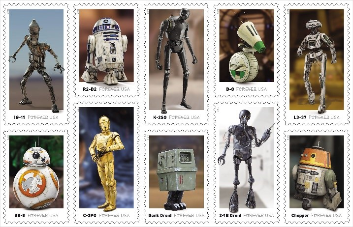 Star Wars Forever Stamps Officially Release May 4