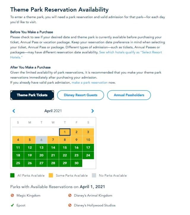Disney World opens up reservations for Spring Break 7