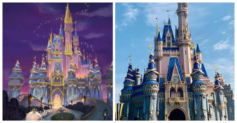 Video: Cinderella Castle almost complete for Disney World's 50th Anniversary