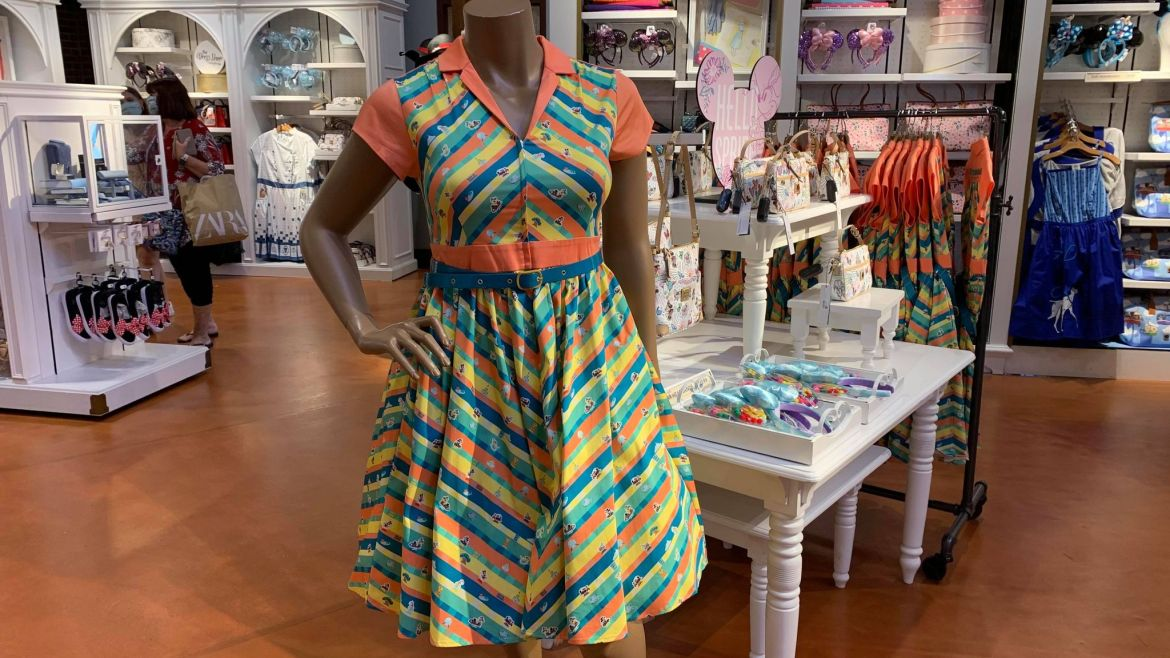 Twirl and Swirl With The New Play In The Parks Disney Dress