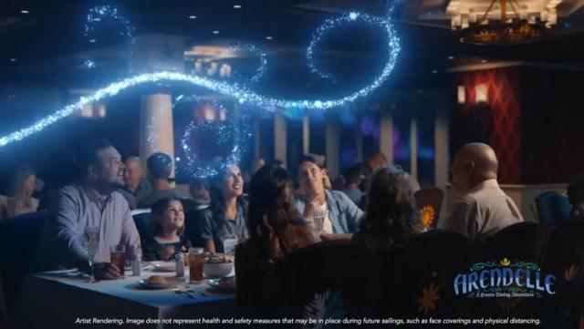 Experience Frozen Fun onboard the Disney Wish 1