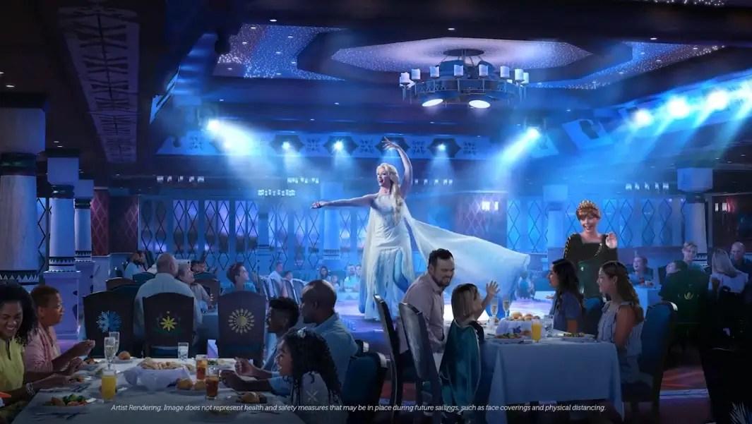 Experience Frozen Fun onboard the Disney Wish