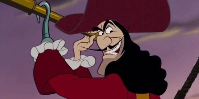 Captain Hook in Disney's Peter Pan
