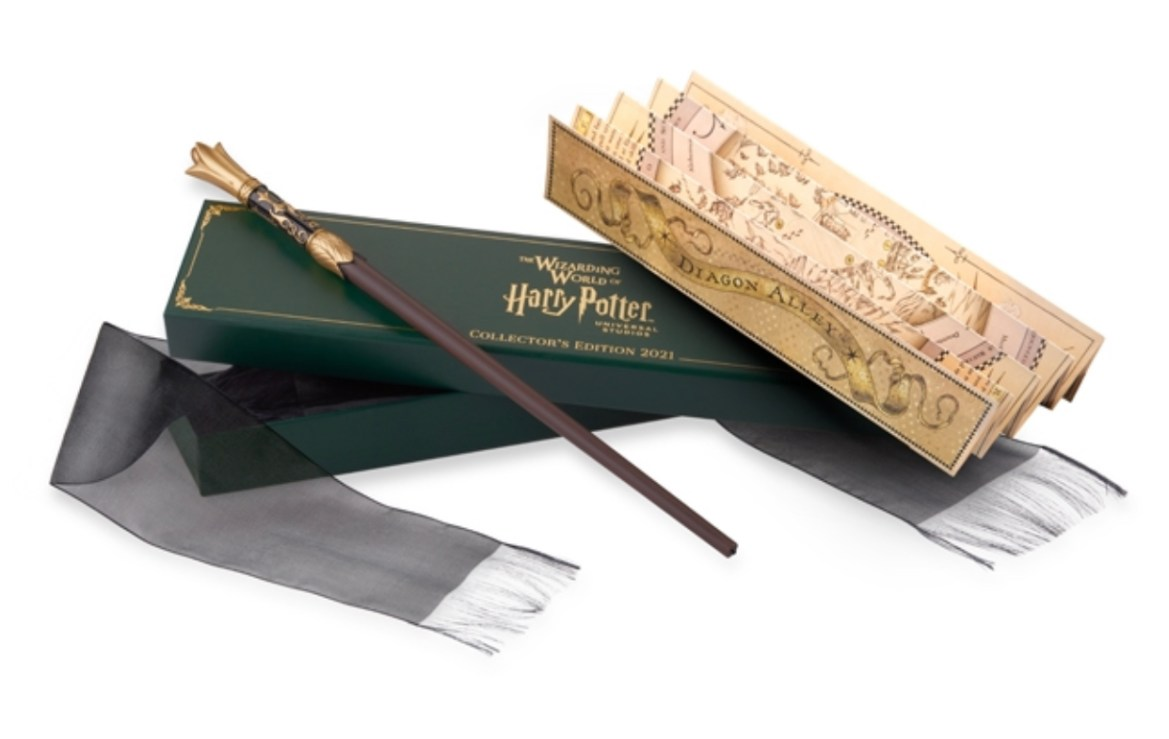 Interactive 2021 Collector's Edition Wizarding World of Harry Potter Wand Now Available