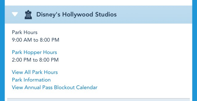 Disney World Theme Park Hours have been released through June 26th 4