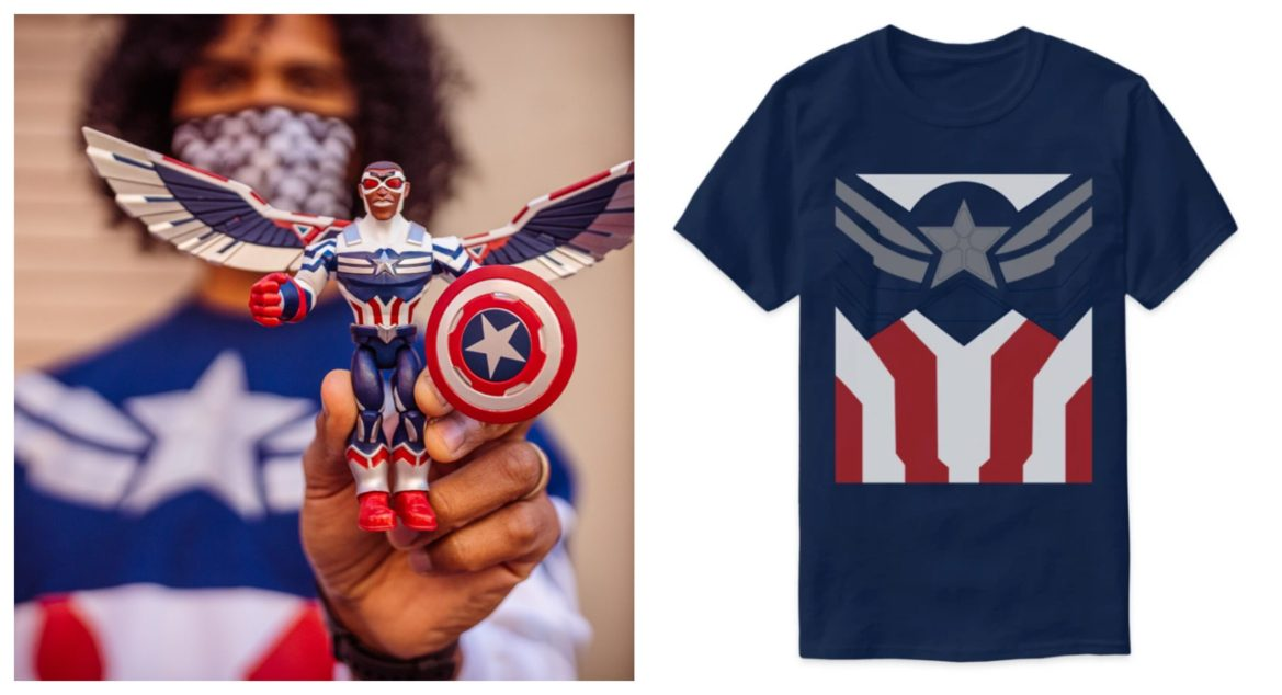 Check out the New Marvel Merch Inspired by 'The Falcon and the Winter Soldier'