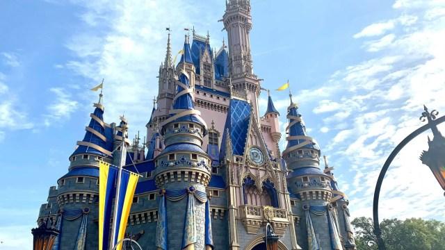 Cinderella Castle Decorations