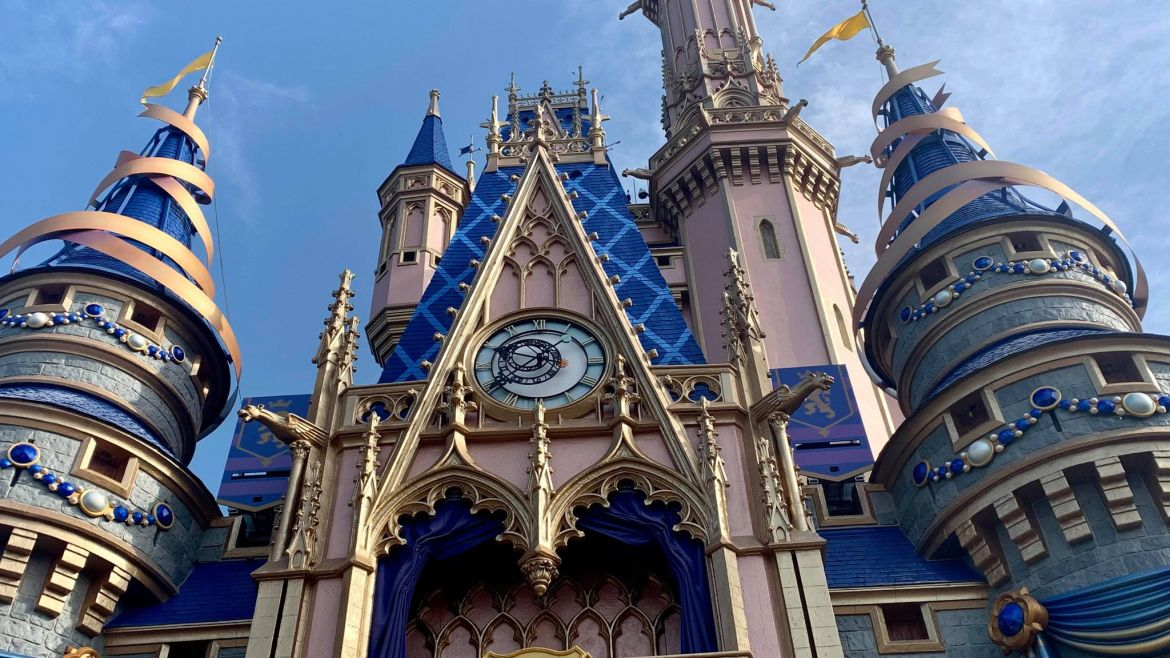 Disney Imagineering Zach Riddley shares a behind the scenes look at the Cinderella Castle Decorations