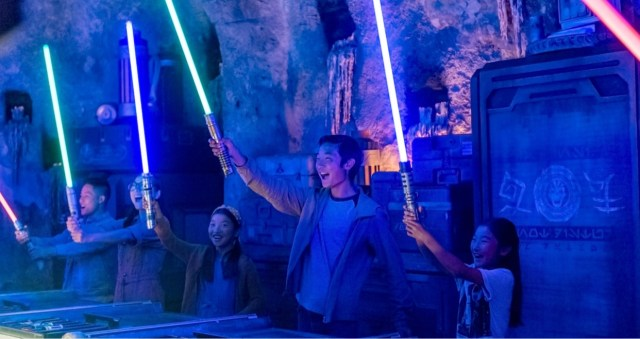Price for Build your own lightsaber experience in Hollywood Studios has gone up 1