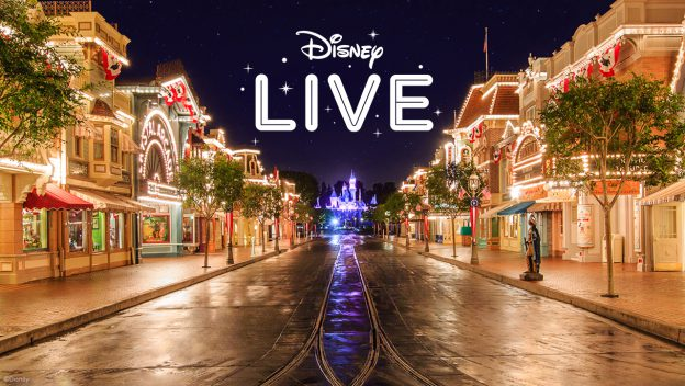 Disney Hosting Live Stream from Disneyland TONIGHT!